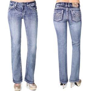 Shyanne Jeans Anne Lotus Embellished Bootcut 7/8